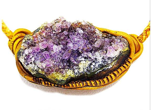 Amethyst \ big drusi  Big Stone