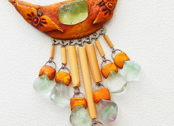 Fluorite Watefall Necklace