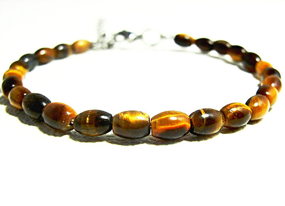 Stacker - 4mm*6mm Tiger Eye