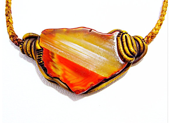Agate slice \ Big Stone