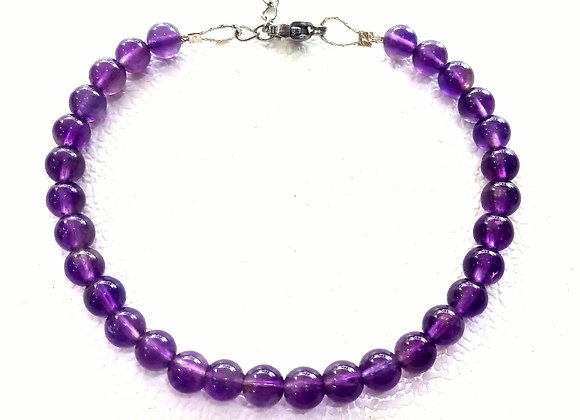 Stacker - 5mm Amethyst Ball