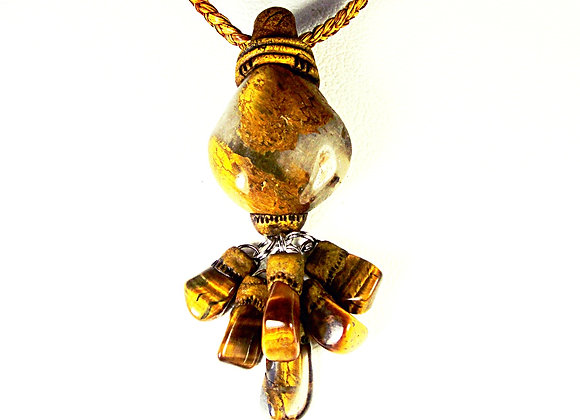 Tiger Eye drop Pendant