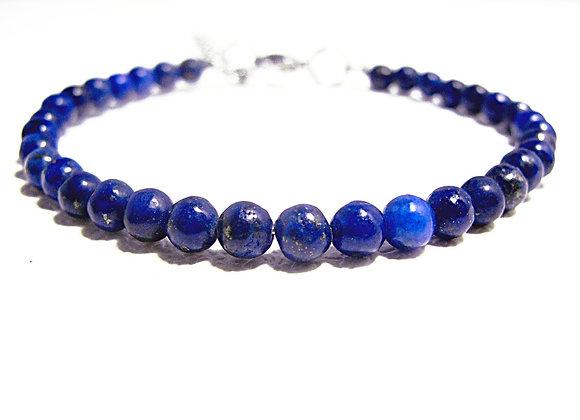 Stacker - 4mm Lapis Lazuli Ball