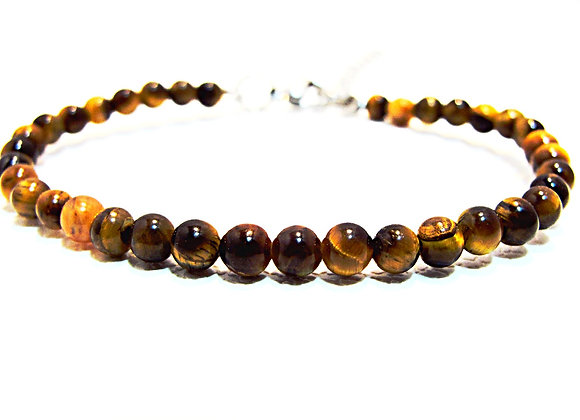 Stacker-4mm Tiger Eye Ball