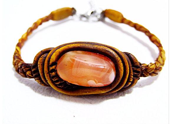 Carnelian agate \  Bracelet