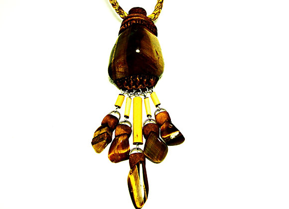 Tiger Eye Waterfall Pandent