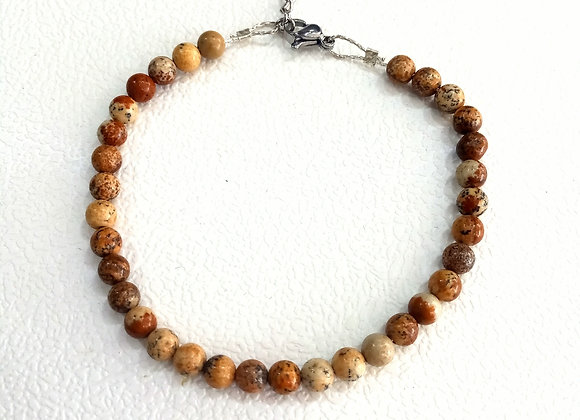 Stacker - 4mm Picture Jasper Ball