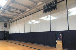 East Aurora Gymnasium Divider Curtain