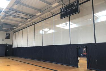 East Aurora Gymnasium Divider Curtain