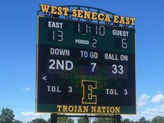 West Seneca East Stadium Scoreboard