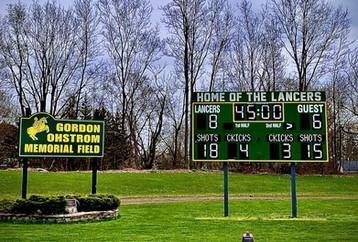 Lafayette Stadium Scoreboard