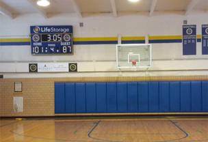 Christ The King School Gymnasium Scoreboard