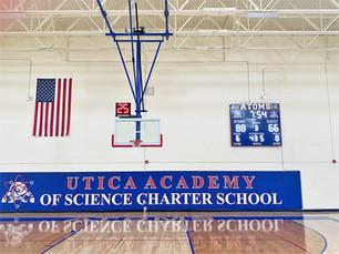 Utica Academy of Science Gymnasium Score