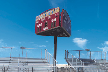 Cheektowaga 3-Sided Scoreboard