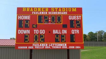 Olean High School Football Scoreboard
