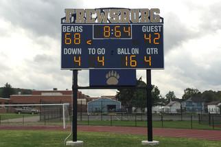 Frewsburg Stadium Scoreboard