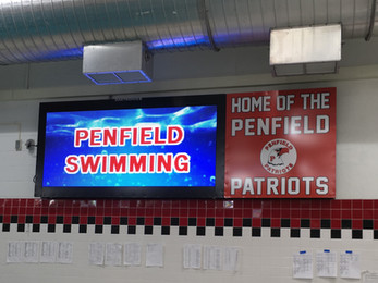 Penfield Pool Video Display