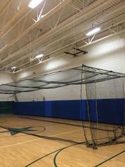 Cicero-North Syracuse Batting Cage - Down Position