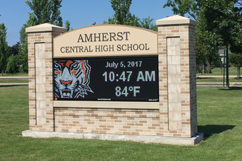 Amherst High School Message Center