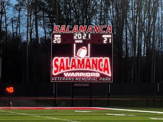 Salamanca Stadium Scoreboard