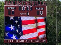 Baldwinsville Stadium Scoreboard
