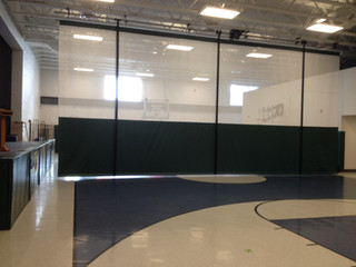 Cantalician Center School Gymnasium Divider Curtain