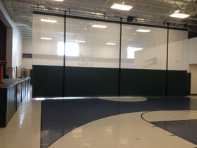 Cantalician Center School Gymnasium Divider Curtain