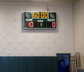 Cantalician Center School Gymnasium Scoreboard