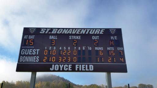 St. Bonaventure Softball Scoreboard