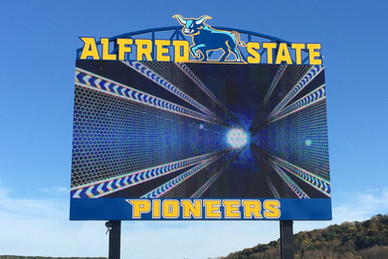 Alfred State Stadium Scoreboard