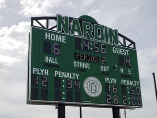 Nardin Academy Multisport Scoreboard