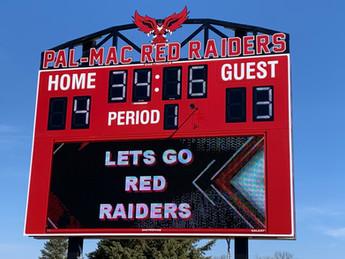 Palmyra-Macedon Stadium Scoreboard