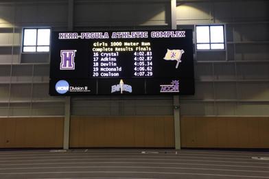 Houghton College Indoor Video Display