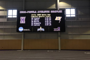 Houghton College Indoor Video Display