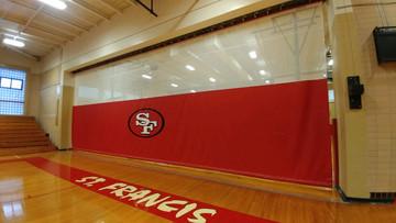 St Francis Gymnasium Divider Curtain