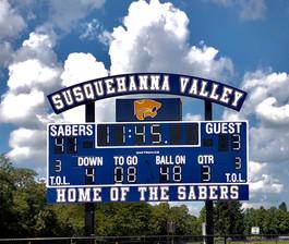 Susquehanna Valley Stadium Scoreboard