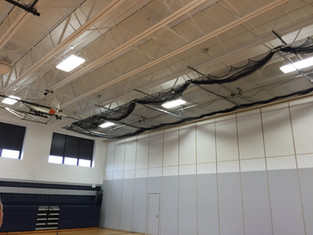 Kenmore West Batting Cage - Up Position