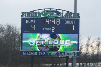 Finger Lakes Community College Stadium Scoreboard