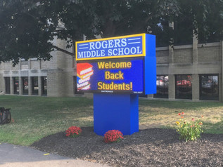Rogers Middle School Message Center