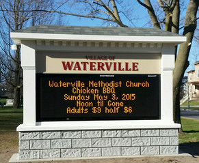Town of Waterville Message Center