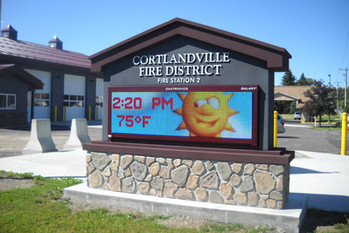 Cortlandville FD #2 Message Center