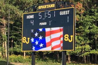 South Jefferson Stadium Scoreboard