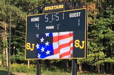 South Jefferson Stadium Scoreboard