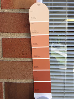 Color Matching the Brick