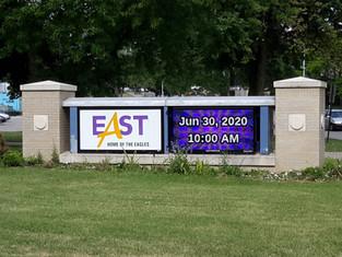 East HS Message Center
