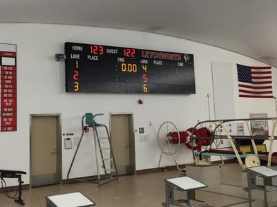 Letchworth Pool Scoreboard