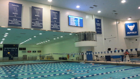 University at Buffalo Pool Video Display