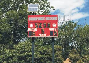 Starpoint Soccer Scoreboard