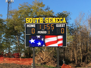 South Seneca Stadium Scoreboard
