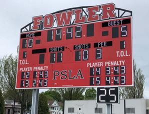 Fowler Stadium Scoreboard